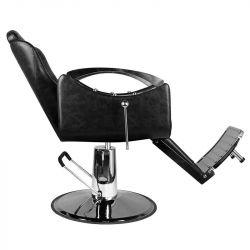 Barber křeslo SM107 černé