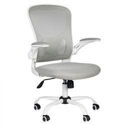Kancelářská židle COMFORT 73 - šedo-bílá