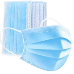 Ochranná rouška na ústa - modrá 50 ks (VPT)