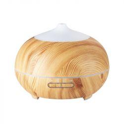 Aroma difuzér zvlhčovač SPA-06 světlé dřevo 400 ml + časovač