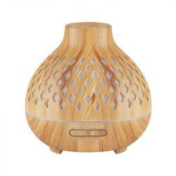 Aroma difuzér zvlhčovač SPA10 světlé dřevo 400 ml + časovač