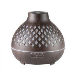Aroma difuzér zvlhčovač SPA10 tmavé dřevo 400 ml + časovač