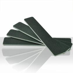 Pilník na nehty černý XXL - rovný 100/180