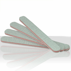 Pilník na nehty zebra - rovný 100/180
