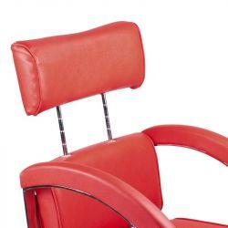 Kadeřnické křeslo DINO BR-3920 červené
