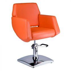 Kadeřnické křeslo NICO BD-1088 oranžové