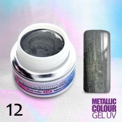 Uv gel na nehty Metalický č.12