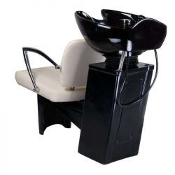 Kadeřnický mycí box LIVIO BD-7822 krémový