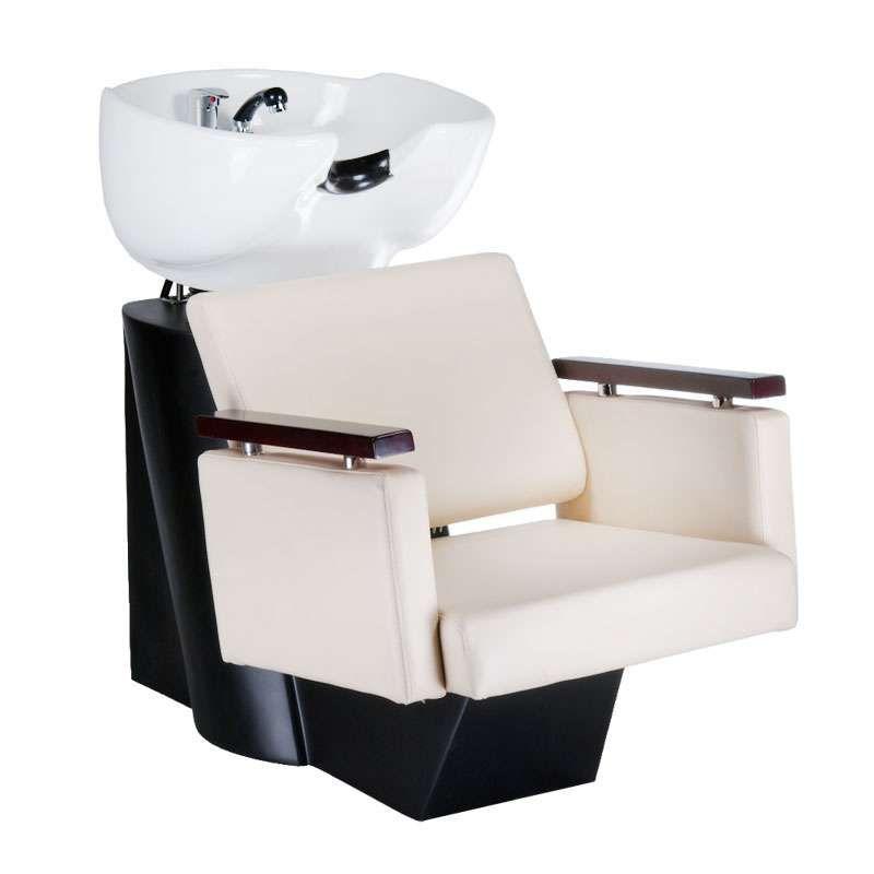 Kadeřnický mycí box MILO BD-7825 krémový