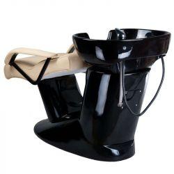 Kadeřnický mycí box Vera BR-3515 krémový