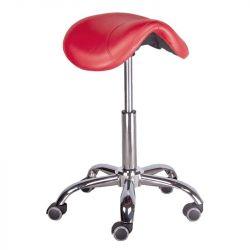 Kosmetická stolička RODEO BD-9909 červená