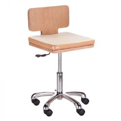 Kosmetická stolička s opěradlem BG-808