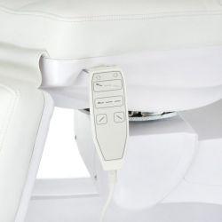 Elektrické křeslo kosmetické BR-6672B bílé