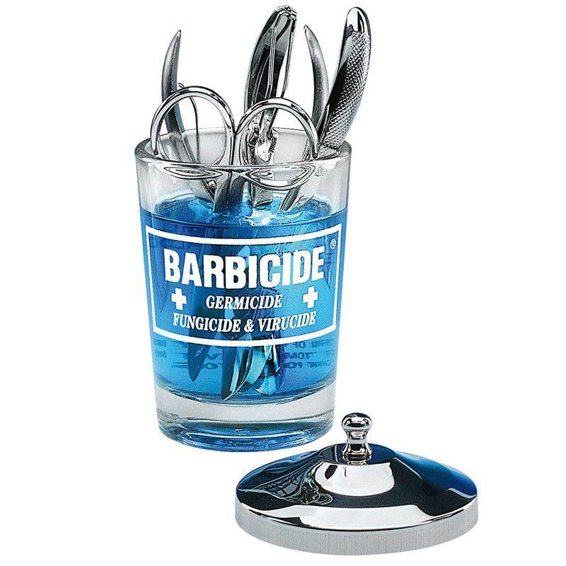 BARBICIDE Skleněná nádoba na dezinfekci 120ml