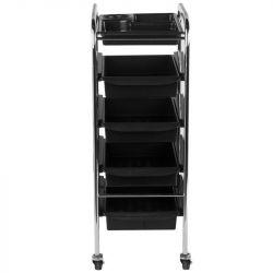 Kadeřnický vozík 031 černý