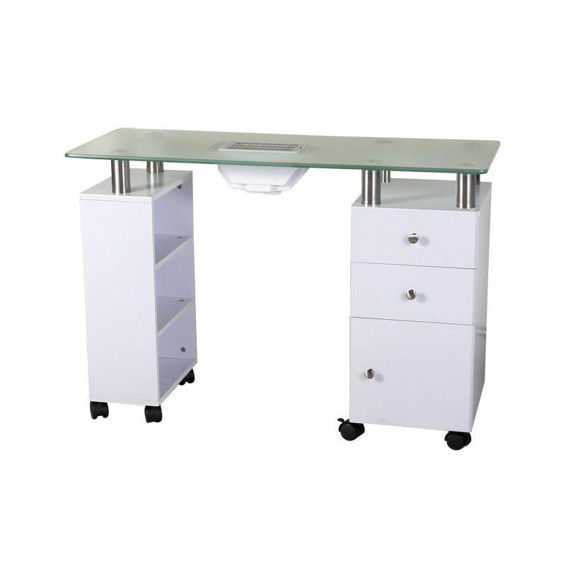 Kosmetický stolek GLASS 013B + pohlcovač
