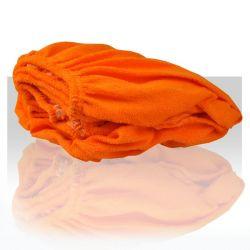 Prostěradlo froté 60x190 cm - oranžové