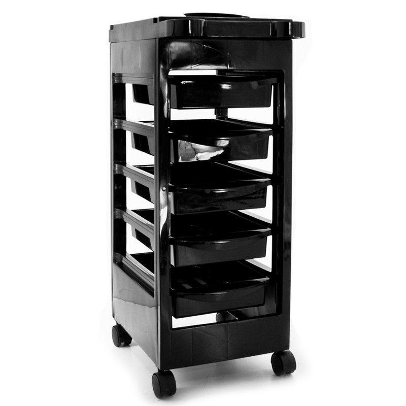 Kadeřnický vozík 048 černý