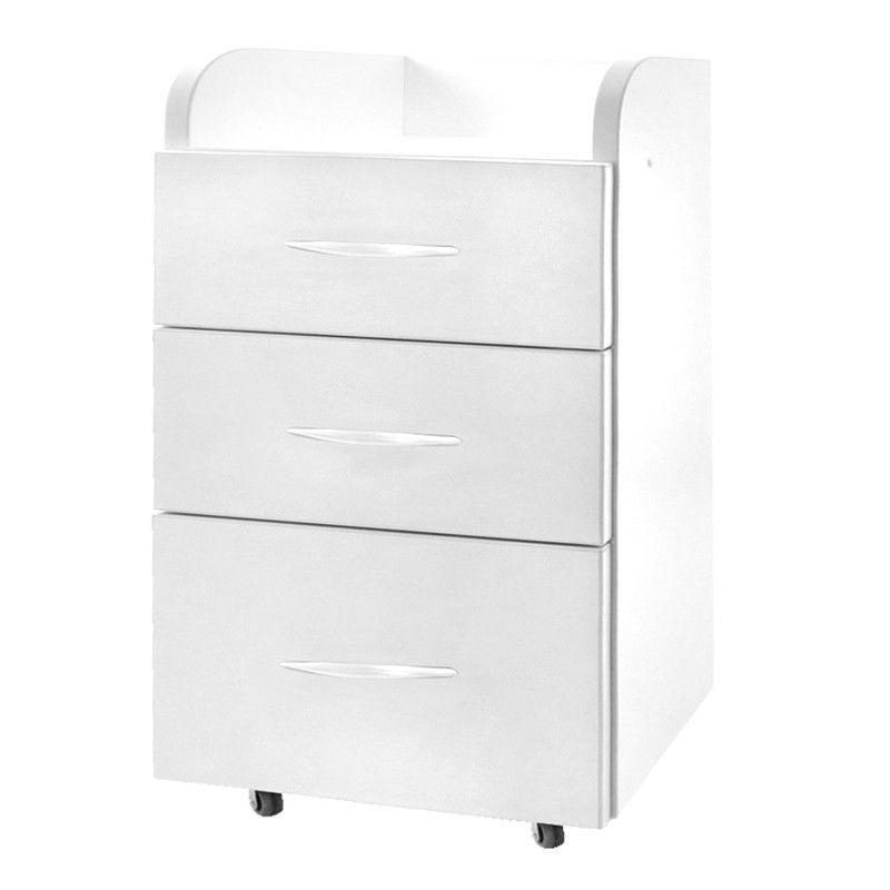 Kosmetický stolek / skříňka KOMBI II bílá