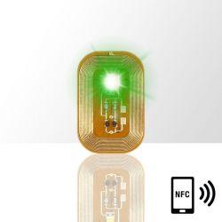LED dioda na nehty NFC - zelená