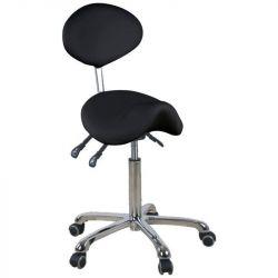 Kosmetická židle GIOVANNI 1025 černá (AS)
