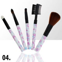 Sada štětců na make-up KIT 4 (5ks)