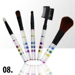 Sada štětců na make-up KIT 8 (5ks)