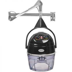 Závěsná vysoušecí helma GABBIANO DL-301W 1 rychlostní černá (AS)