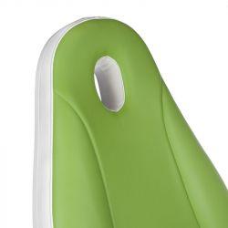 Elektrické kosmetické křeslo MAZARO BR-6672A zelené