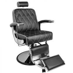 Holičské (barber) křeslo GABBIANO IMPERIAL černé (AS)