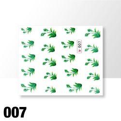 Vodolepky na zdobení nehtů č. 007
