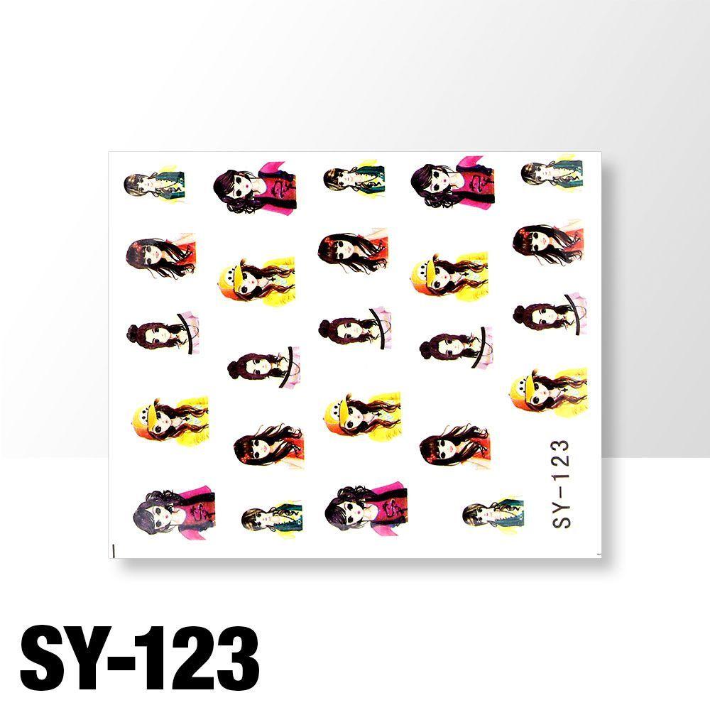 Vodolepky na zdobení nehtů č. SY-123