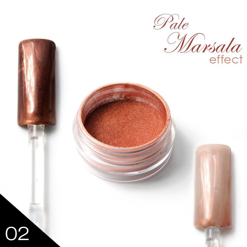 02. a'la METAL MANIX - PALE MARSALA