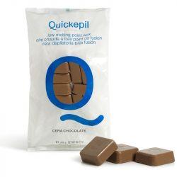 Tvrdý vosk na depilaci QUICKEPIL čokoláda 1kg (AS)