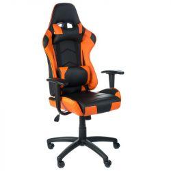 Herní židle RACER CorpoComfort BX-3700 oranžová (BS)