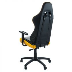 Kancelářská židle RACER CorpoComfort BX-3700 žlutá
