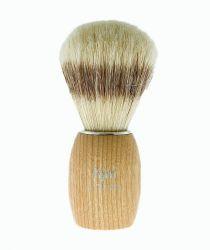 Štětka na holení z přírodních štětin MUEHLE - HJM světlé dřevo (B)