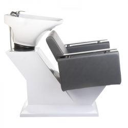 Kadeřnický mycí box MILO BH-8025 šedý