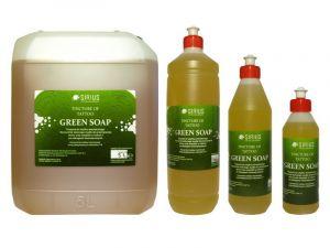 Zelené mýdlo SIRIUS GREEN SOAP - koncentrát 250ml (AT)