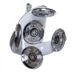 Infrazon k zavěšení BB-6082E stříbrno-šedý