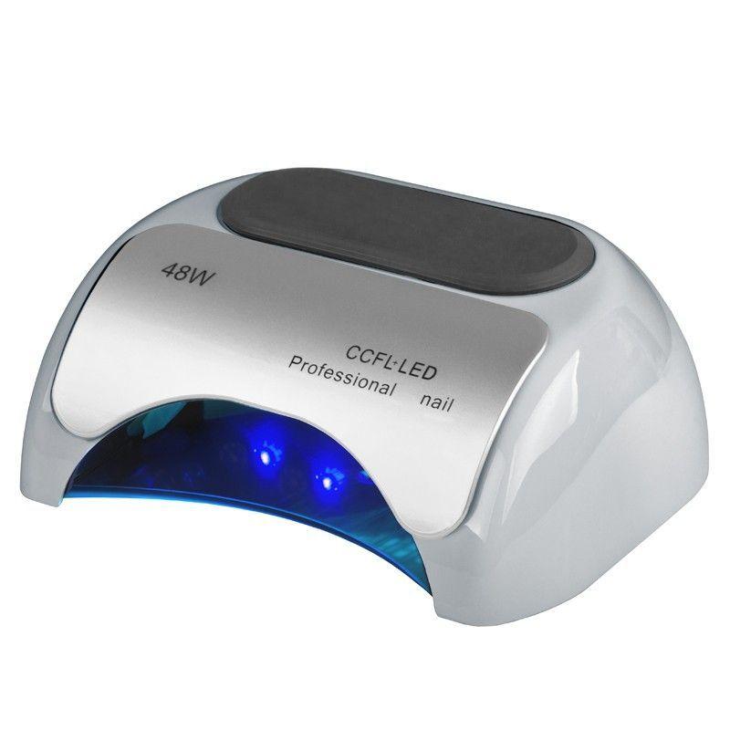 Lampa PROFESSIONAL 2v1 UV LED+CCFL 48W TIMER+SENSOR stříbrná