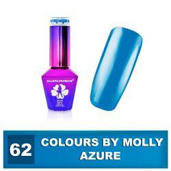 62 Gel lak Colours by Molly 10ml - Azure (A)