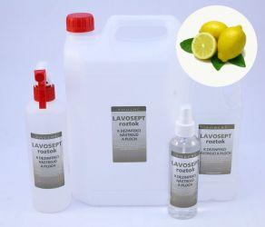 Dezinfekce na nástroje a plochy 1000 ml náhradní náplň - aroma citron (AM)