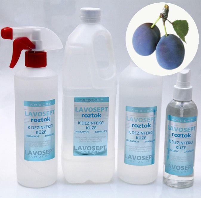 Lavosept® roztok - dezinfekce 500 ml (s rozprašovačem) - aroma trnky