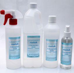 Dezinfekce na ruce 500 ml (s rozprašovačem) - bez aroma (AM)