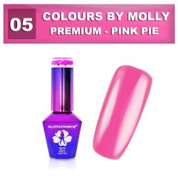 05 Gel lak Colours by Molly PREMIUM 10ml -PINK PIE- (A)