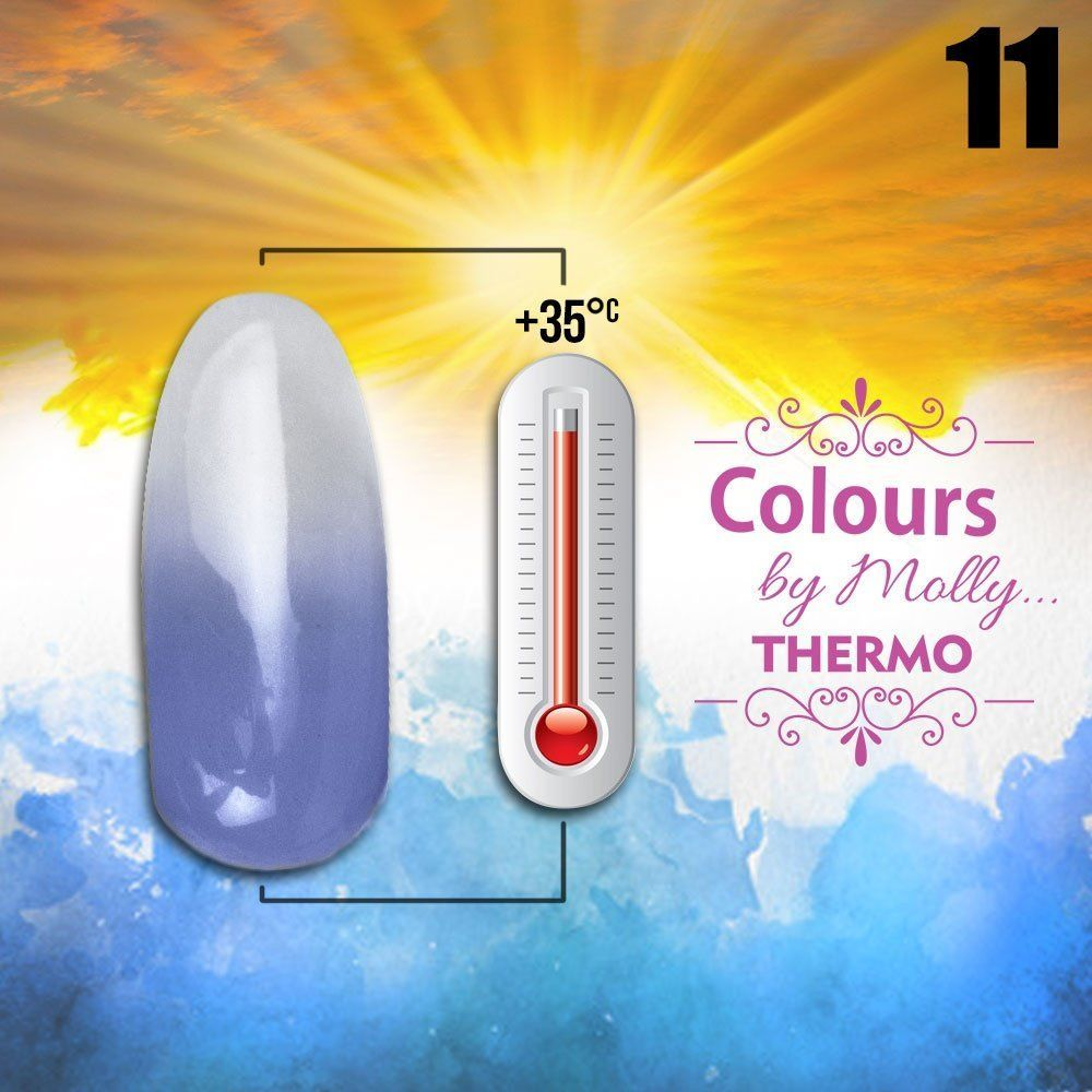 Gel lak Colours by Molly Thermo 11 - 10ml