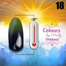 Gel lak Colours by Molly Thermo 18 - 10ml (A)