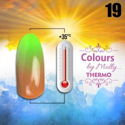 Gel lak Colours by Molly Thermo 19 - 10ml (A)