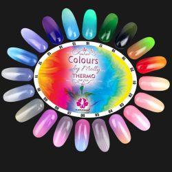 Gel lak Colours by Molly Thermo 19 - 10ml